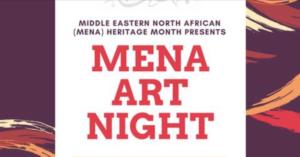 MENA Art Night